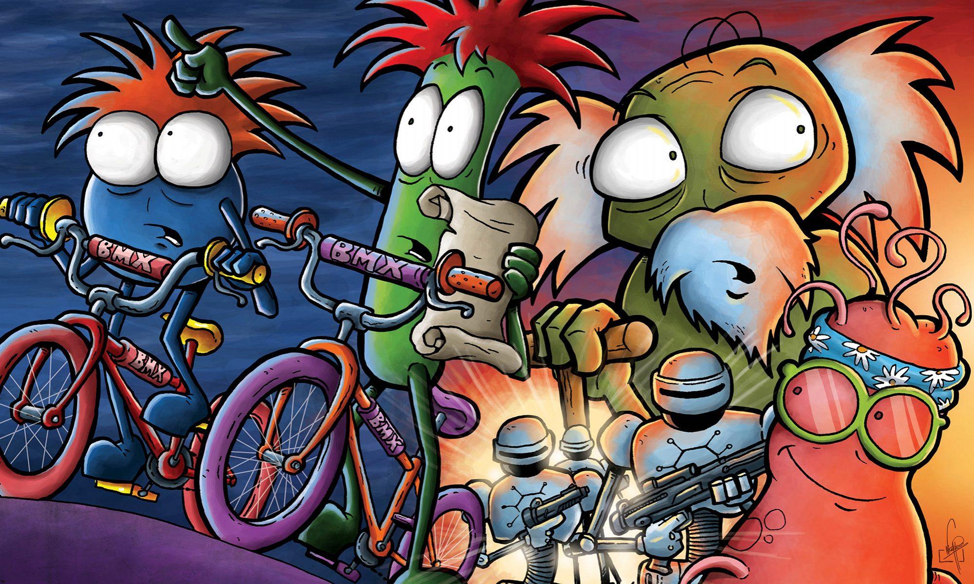 Comic bacterias